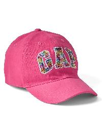 Gap Sequin Logo Baseball Hat - Romantic 790