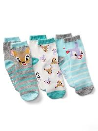 Gapkids &#124 Disney Socks (3 Pack) - Bambi