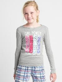 Gapkids &124 Disney Graphic Pj Tee - H. grey b08 7062