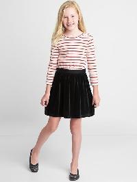 Gap Mix Fabric Button Dress - Red stripe combo a