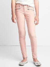 Gap High Stretch Pink Zip Super Skinny Cords - Pink standard