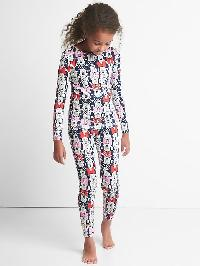 Gapkids &#124 Disney Long Sleeve Sleep Set - Minnie mouse
