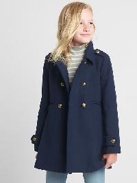 Gap Navy Wool Peacoat - Blue uniform