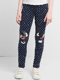 Gapkids &#124 Disney Mickey Mouse And Minnie Mouse Soft Terry Leggings - Blue galaxy
