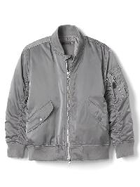 Gap Twill Flight Jacket - New shadow