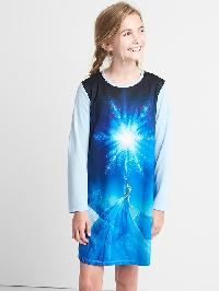 Gapkids &#124 Disney Elsa Nightgown - Elysian blue