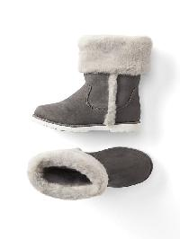 Gap Cozy Cuff Boots - New shadow