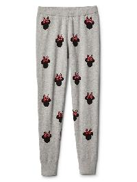 Gapkids &#124 Disney Minnie Mouse Sweater Leggings - Light heather grey b08