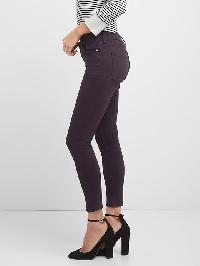 Gap Mid Rise Sculpt True Skinny Jeans - New vineyard 686