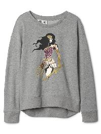 Gapkids &#124 Wonder Woman� Pullover - Grey heather