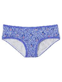 Gap Stretch Cotton Hipster - Tiny flowers blue