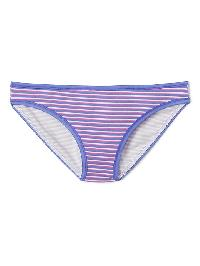 Gap Stretch Cotton Bikini - Pink stripe
