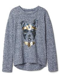 Gapkids &#124 Wonder Woman� Pullover - Light blue marl