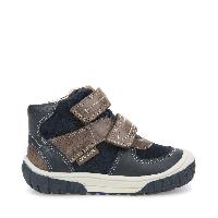 BABY OMAR - Navy and Dark Brown