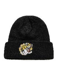 Embroidered Tiger Beanie Hat