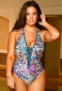 Ashley Graham x Swimsuits For All VIP Safi Swimsuit